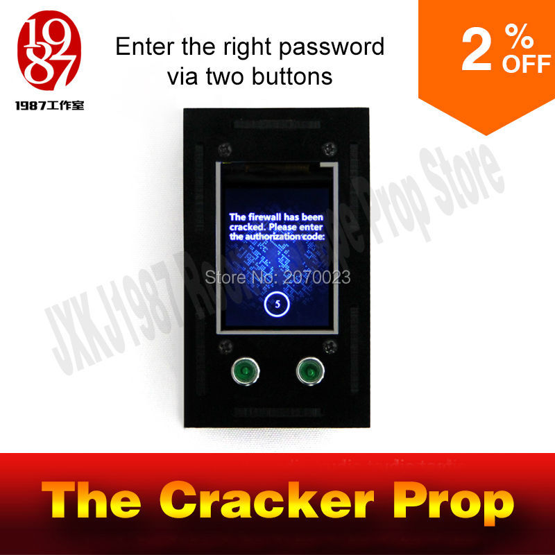 bilder für Takagism spiel prop Real life escape schreibmaschine cracker code prop geben rechts passwort zu entriegeln und laufen kammer puzzle zimmer