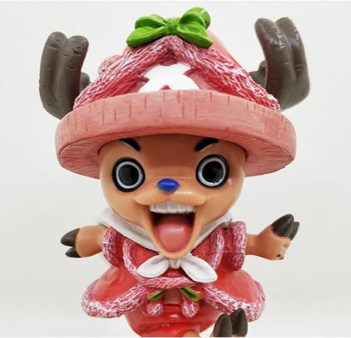 Новые Горячие 16 см одна деталь Тони Чоппер Рождество наряжаться фигурку игрушечные лошадки куклы подарок с коробкой