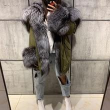 natural fur parka women real fur parka