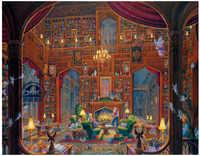 ライブラリクロスステッチキットブック知識絵画工芸針仕事カウント印刷されてい刺繍入り手作りアートdmc壁家の装飾