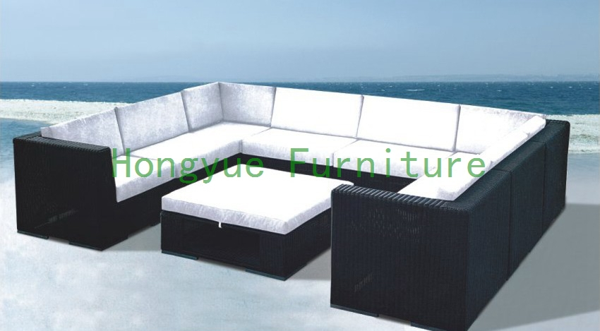 Patio garden sectional sofa set supplier,outdoor furniture set