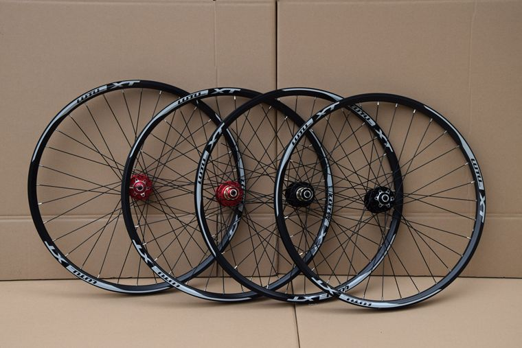free shipping lutu xt wheelset MTB Mountain Bike 26 27.5 29er 32H Disc Brake 11 Speed No carbon bicycle wheels Super good!