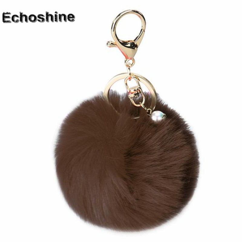 Charm Women Bag Accessories Rabbit Fur Ball  Bag Plush handbag Pendant giftwholesale B10