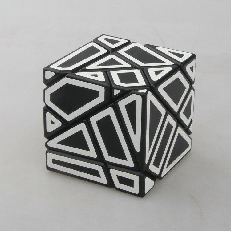 30b441e3c4415 2017 Nouveau Fangcun 3 3 Fantôme Magique Cube Vitesse Cubes Puzzle Jouets  (57mm)