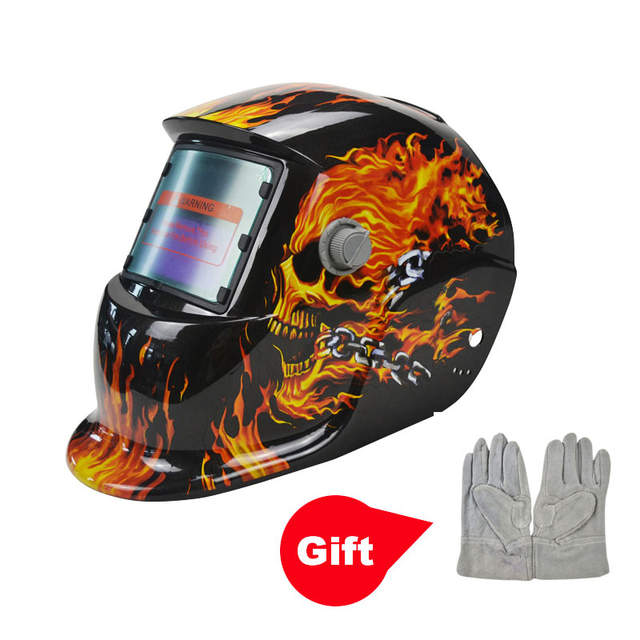 placeholder DEKOPRO Crânio Solar Escurecimento Automático Capacete de  Soldagem Soldador MIG MMA Máscara de Solda Elétrica De b4ba5ec89f