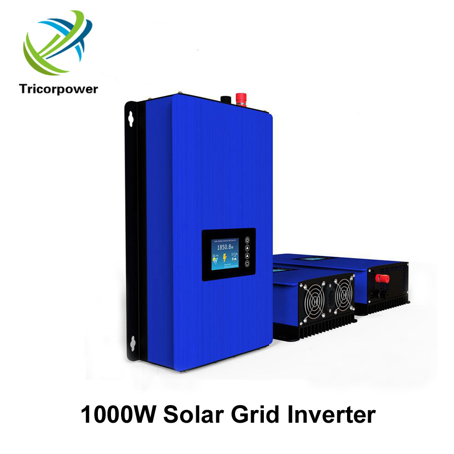 GRID TIE INVERTER WITH LIMITER 1000W DC22-60V/45-90V 1000W POWER SOLAR PV DC/AC INVERTERGRID TIE INVERTER WITH LIMITER 1000W DC22-60V/45-90V 1000W POWER SOLAR PV DC/AC INVERTER