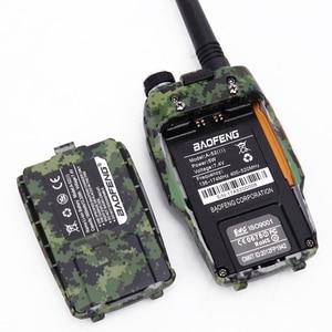 Image 5 - Мощная рация Baofeng A 52ii 8 Вт, двусторонняя радиосвязь, 10 километровый приемопередатчик дальнего действия, Двухдиапазонная Улучшенная рация BF A52 uv 5r uv5r