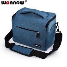 Wennew fotoğraf kapak DSLR kamera çantası SLR çantası Nikon D7500 D750 D7200 D7100 D3400 D3300 D3200 D3100 D3000 P100 L840 l830