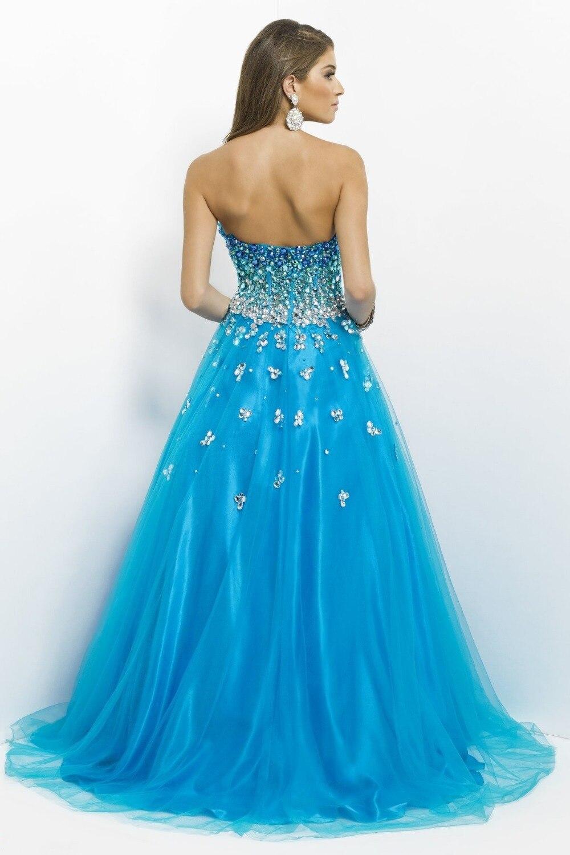 On Sale Prom Dresses Teens China Teal Newyork A Line Ankle Length ...