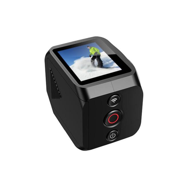 Novo 360 Wi-fi Controle Remoto de vídeo ultra larga de 220 graus de visualização lente 1.5 ''tft display hero style 190 dv h360 r360 vr360 câmera
