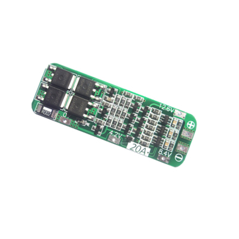 3S 20A Li-ion Lithium Battery 18650 Charger Protection Board PCB BMS 12.6V Cell Charging Protecting Module 3s 30a max li ion lithium battery 12 6v 18650 charger protection board pcb bms batteries protecting module