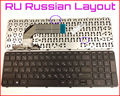 New Keyboard RU Russian Version For HP Pavilion 17 17E 17-E 17E110DX 17E128CA 17N 17-N 17N000 17E000 Laptop with Frame
