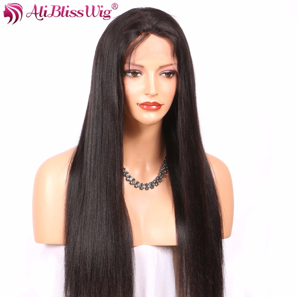 Aliblisswig Lace Front Human Hair Wigs For Black Women
