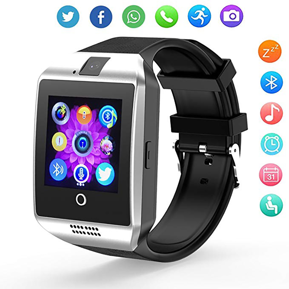 Fashion Sleep Monitor Smart Watch Men Sport Outdoor Step Gauge Analysis Hour Simple Calendar SMS Anti-loss Women Wristwatches