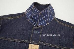 Image 3 - BOB DONG 23oz Selvage Denim Jacket Vintage Clothing 507XX Trucker Selvedge Coat