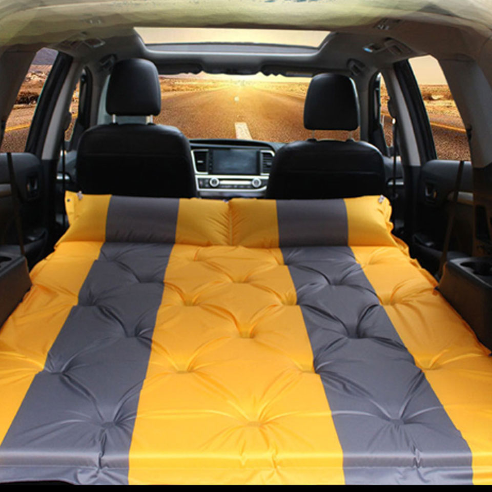 1PC SUV Special Car Inflatable Bed Outdoor Travel Essential Mattress Car Rear Row Mattress 3 CM Thick Car Interior Accessories