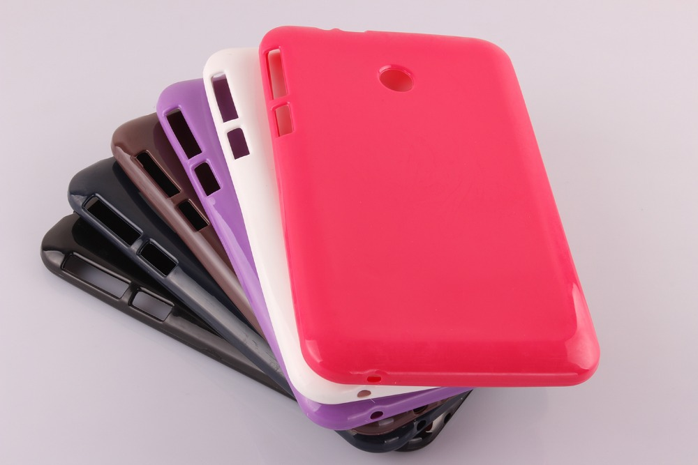 Ultra Slim Soft Silicon Rubber TPU Gel Protector Shell Cover Tablet Protect Case For Asus FonePad 7 FE170CG FE170 FE7010CG K012 ultra thin clear transparent rubber shockproof soft tpu protect skin case cover for apple iphone 7 580316