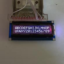 7 Mode RGB Backlight, FSTN Negative Mode (RGB on Black) 162 16X2 1602 Character LCD Module Display Screen LCM