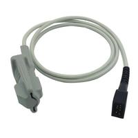 Adult Soft Tip Type SpO2 Sensor Compatible Nonin 8500/8600/8700/8800 1m 7Pin