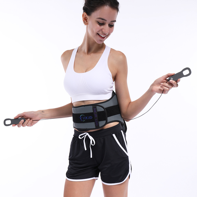 Lumbar Back Spinal Spine Waist Brace Support Belt Corset Stabilizer Cincher Tummy Trimmer Trainer Weight Loss Slimming