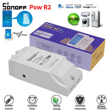цена на Sonoff POW POW R2 Real Time Energy Monitoring Consumption Timing Remote Control