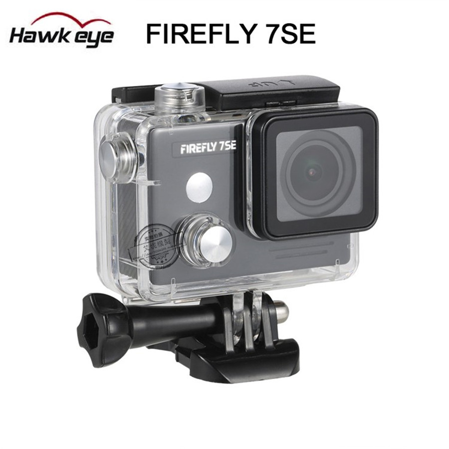 New High Quality FPV Action Camera Hawkeye Firefly 7SE 12MP 4K WIFI Waterproof HD Camera Recorder Voice control instead of 7S цены онлайн