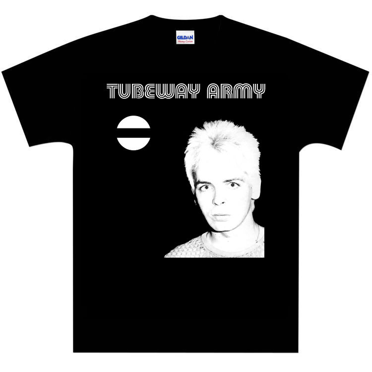 Tubeway Army (Gary Numan) Bombers Era T-Shirt TATEE1 - NEW T Shirt Summer Famous Clothing Summer The New Fashion