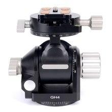 Буддизман GH4 головка штатива с зубчатой головкой W панорамный зажим головка 360 градусов сделано для Gitozo Manfrotto Benno RRS SUNWAYFOTO