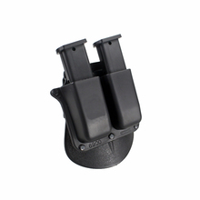 Tactcal Mag Holster 6900 Paddle Style Double Magazine Pouch For Glock 9mm .40 Cal Mags hot sale emersongear magazine ammo speed loader for 9mm 40 357 45 gap mags clip free shipping