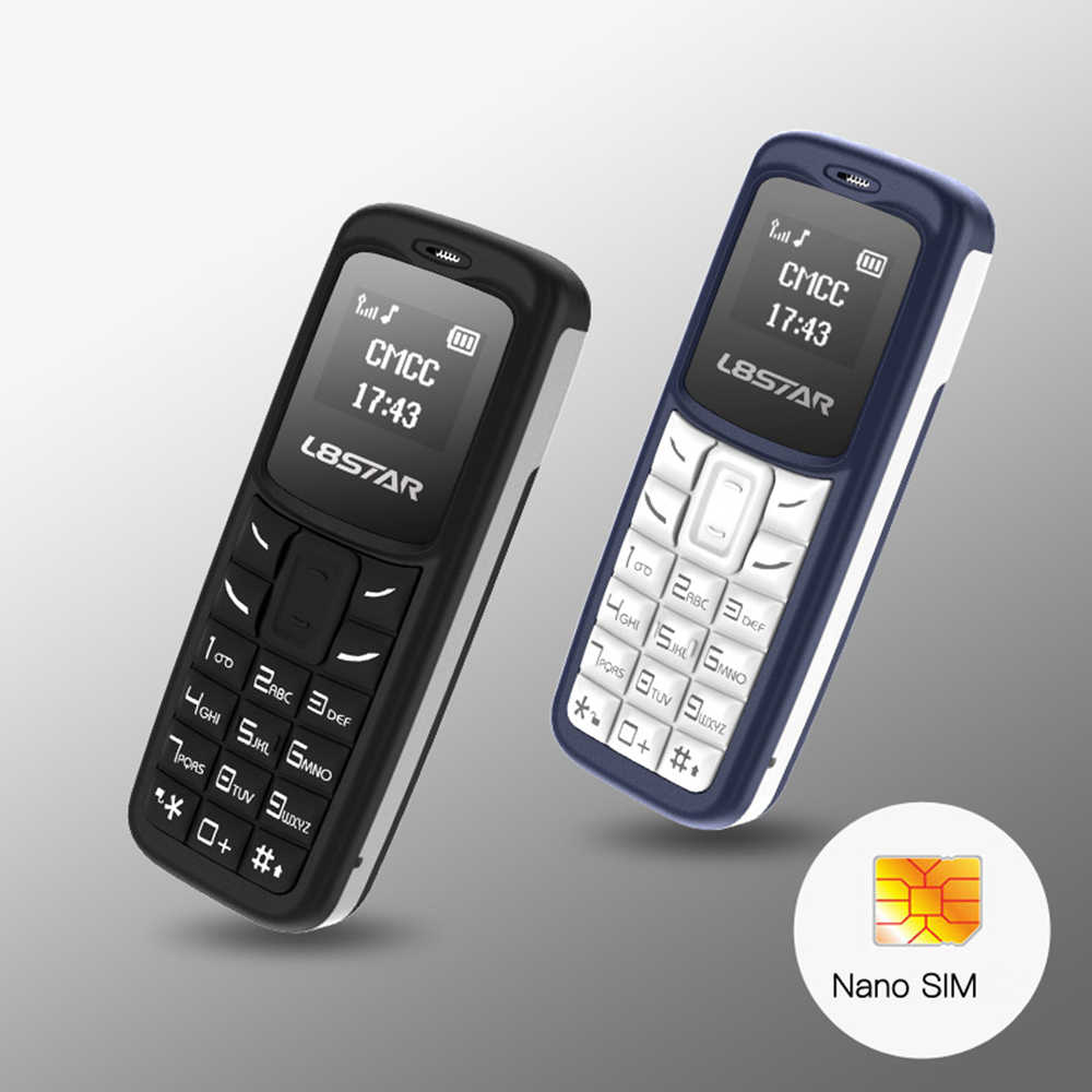 L8STAR BM30 Mini auricular inalámbrico, teléfono móvil con tarjeta SIM + TF, teléfono móvil libre, GSM 2G/3G/4G Bluetooth, auriculares con marcador móvil con Mp3