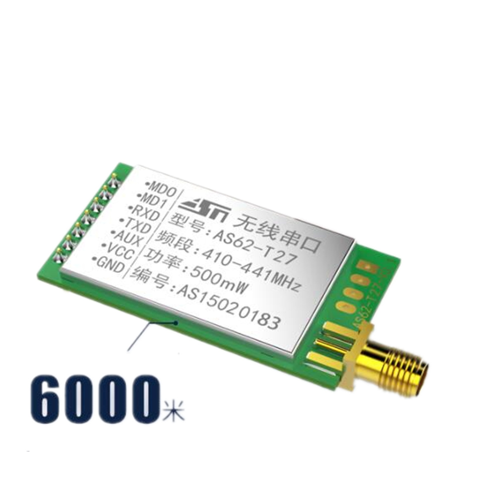 2 PCS SX1278 / SX1276 Wireless Module | 433MHZ Wireless Serial Port | LORA Spread Spectrum 6000m | UART Interface wireless module 433mhz digital broadcasting station lora spread spectrum rs232rs485 5km remote