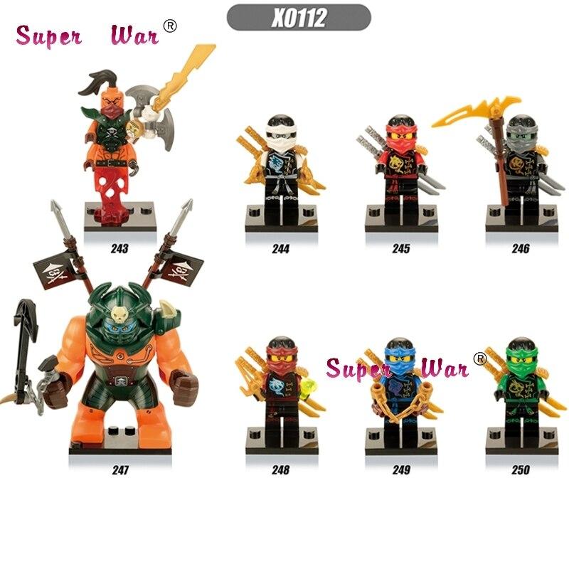 8pcs star wars super heroes marvel avengers Ninja Fabulous Gnea Beauty Khan building blocks model brick toys for children