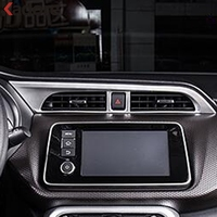 For Nissan Kicks 2016 2017 2018 LHD Car Interior Matte Center Console Air Conditional Vent Cover