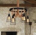 Ретро индустрия Ретро минимализм личность подвесной светильник креативный ресторан бар кофейня магазин одежды освещение веревка GY38