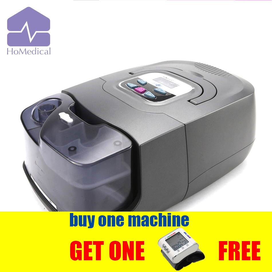 HoMedical GI BPAP 25A Machine Auto/S Mode with Mask+Humidifier+Carrying Case for Snoring(OSA) Patient