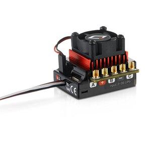 Image 5 - Hobbywing quicrun 10bl120 controlador de velocidade, sensor de 120a/10bl60, sem escova, esc, para mini carro 1/10 1/12 rc