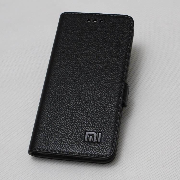 imágenes para Genuino para xiaomi redmi 4 pro leather case cubierta de libro de lujo cuero del tirón case para xiaomi redmi 4 pro primer stand case