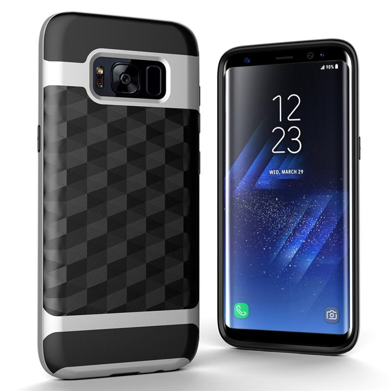 MOONCASE Original For GALAXY S8 Case Silicon TPU PC Back Cover Shell For Project Dream/SM-G9500/SM-G950U/SM-G Cases