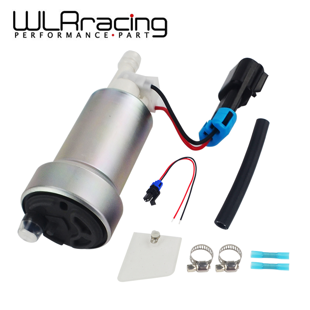 WLR E85 Compatible Racing High Performance internal 450LPH Fuel Pump For Nissan Skyline Subaru WRX F90000267 & Install Kit