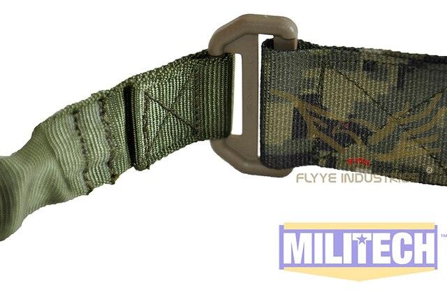 Военная Приемка AOR2 Камо Тактический Стрелковый Одноместный Слинг FLYYE FY-SL-S001 Одной Точке Слинг