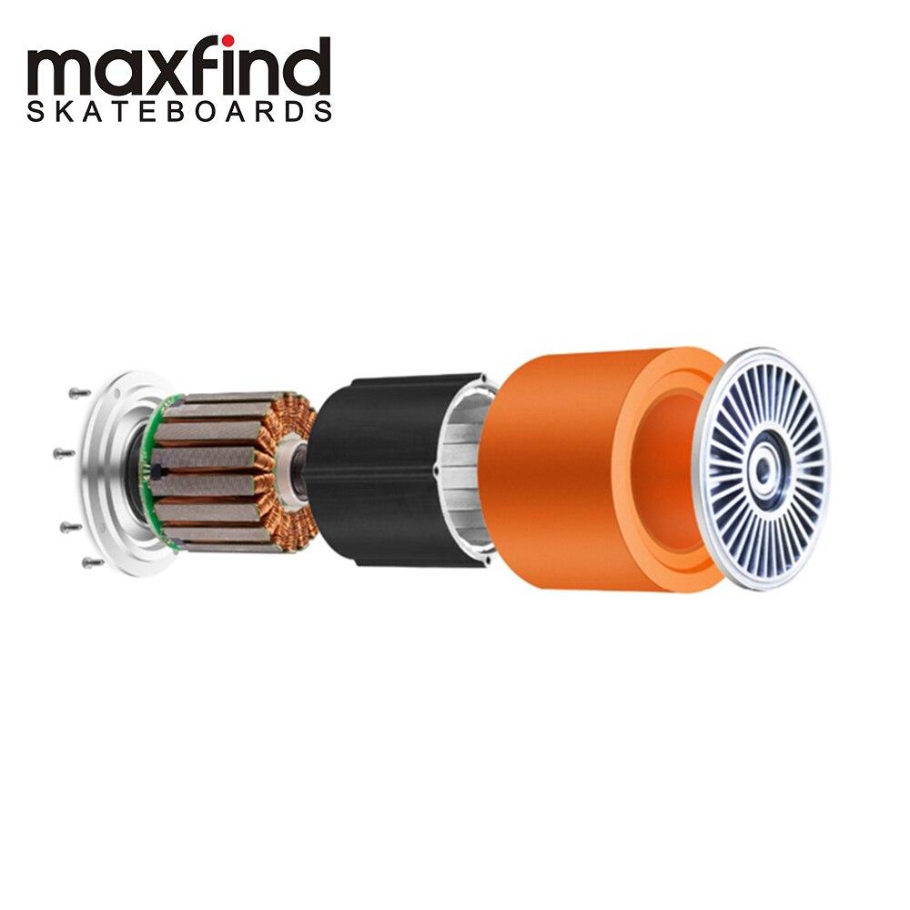 Moteur de planche à roulettes électrique maxfound 70mm 90mm moteur de moyeu sans brosse d'entraînement à grande vitesse 500 W, moteur Intelligent auto-équilibrant pour la roue