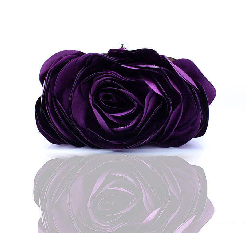 clutch ladies shoulder bolsa banquet Bag Item : Women Flower Evening Bag Clutch