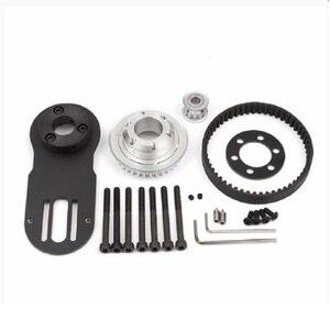 Image 3 - 83mm 90mm 97mm skate elétrico 1800w motor 5m engrenagem 270mm cinto kit e motor riserpad das peças do montagem