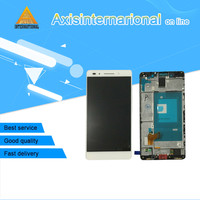 Axisinternational LCD Screen Display Touch Panel Digiziter With Frame For Huawei Honor 7 White Or Gold
