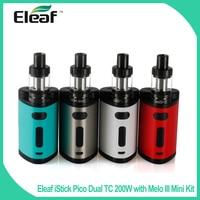 Eleaf IStick Pico Dual TC 200W With Melo III Mini Kit 2ml E Liquid Capacity 510