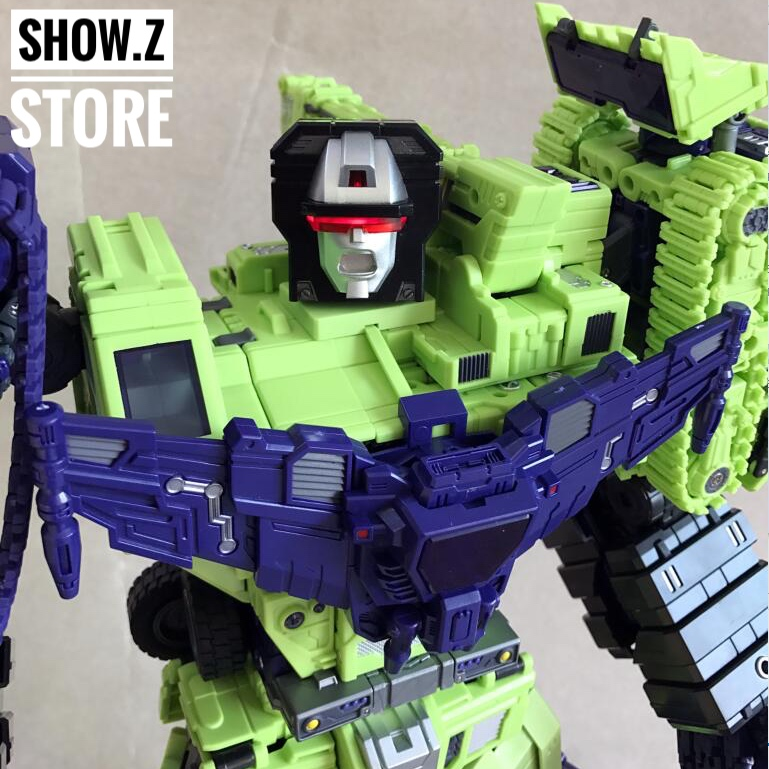 [Show.Z Store] Toyworld TW-C07 Constructor Full Set Toy World v2 Devastator Transformation Action Figure managing the store