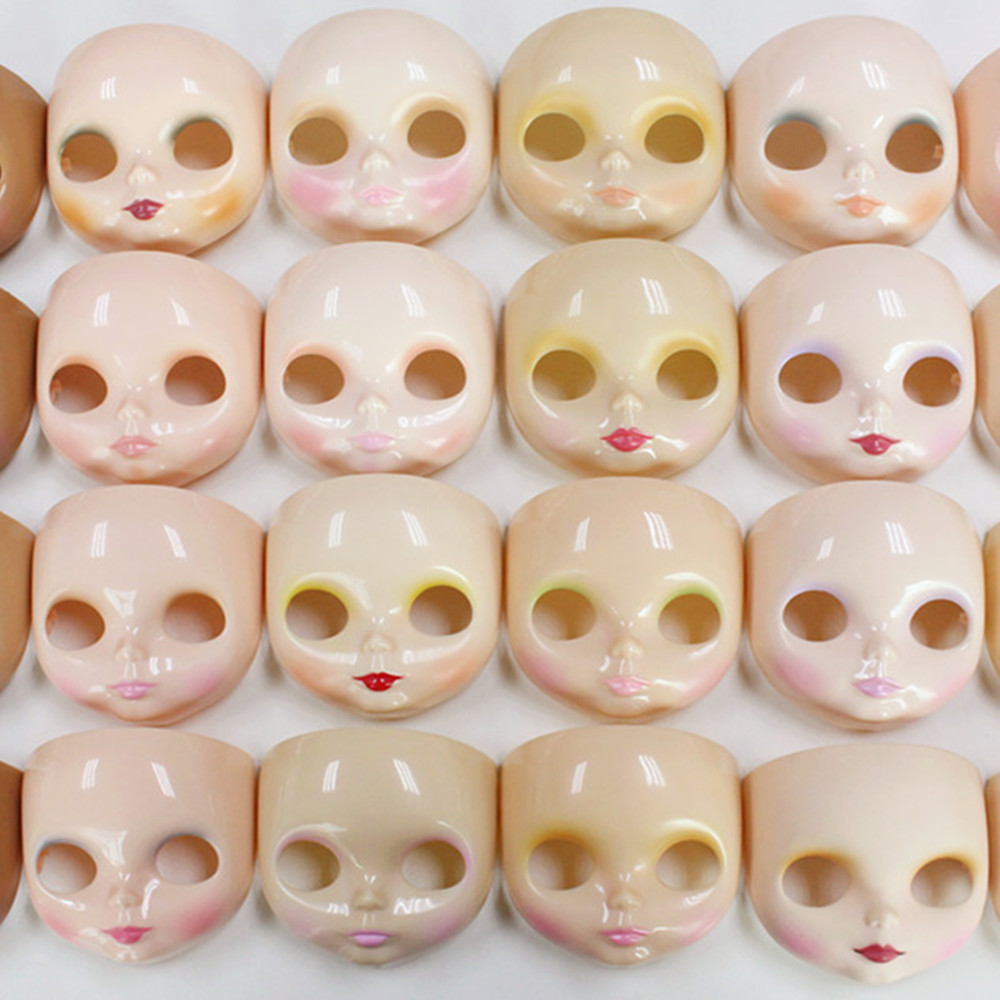 blyth Doll Face Plate DIY 5PCS including faceplate backplate and screws
