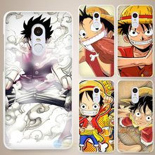 One Piece Luff Hard White Cell Phone Case Cover for Xiaomi Mi Redmi Note 4 Pro 4A 4C 4X 5X 5 6