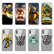 Cuddly Transformers Bumblebee Phone Cases Cover For iPhone 11 Pro MAX 2019 5S 6SPlus 7 8Plus Soft silicon TPU Coque Shell