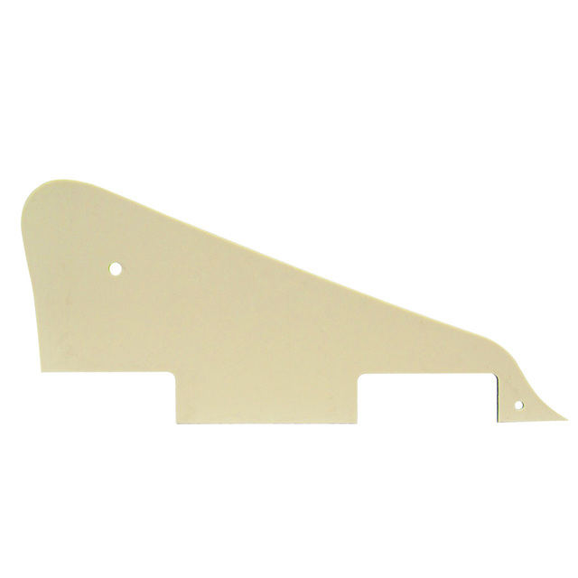 NEW Guitar Parts Aged Pearl Electric Guitar Pickguard Scratch Plate 4Ply with Chrome Bracket for LP